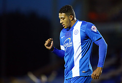 Peterborough United's Nathaniel Mendez-Laing celebrates scoring - Photo mandatory by-line: Joe Dent/JMP - Tel: Mobile: 07966 386802 09/11/2013 - SPORT - FOOTBALL - London Road Stadium - Peterborough - Peterborough United v Exeter City - FA Cup - First Round