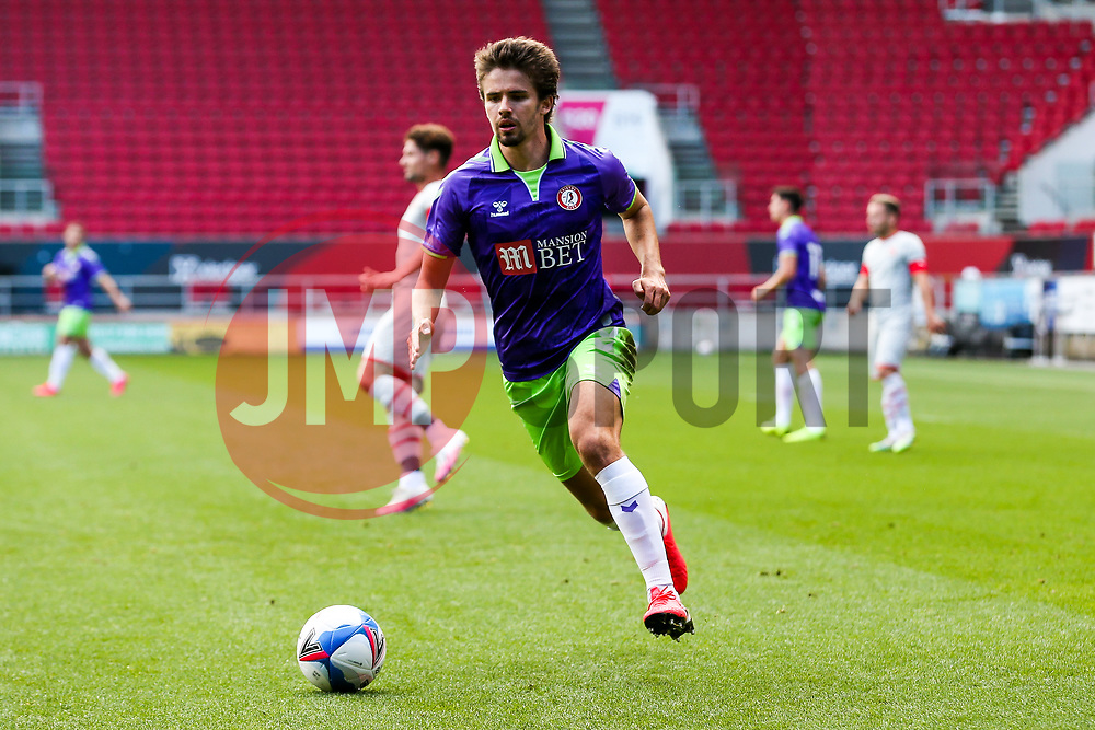 Adam Nagy of Bristol City in action - Rogan/JMP - 29/08/2020 - Ashton Gate Stadium - Bristol, England - Bristol City v Swindon Town - Pre Season Friendly.
