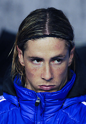 17.12.2011, Stamford Bridge Stadion, London, ENG, PL, FC Chelsea vs Wigan Athletic, 16. Spieltag, im Bild Chelsea's Fernando Torres looks on from the bench during the football match of English premier league, 16th round, between FC Chelsea and Wigan Athletic at Stamford Bridge Stadium, London, United Kingdom on 2011/12/17. EXPA Pictures © 2011, PhotoCredit: EXPA/ Propagandaphoto/ Chris Brunskill..***** ATTENTION - OUT OF ENG, GBR, UK *****