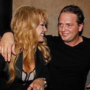 NLD/Amsterdam/20101006 - Patricia Paay presenteerd haar online magazine La Paay, met partner Nicky van Dam