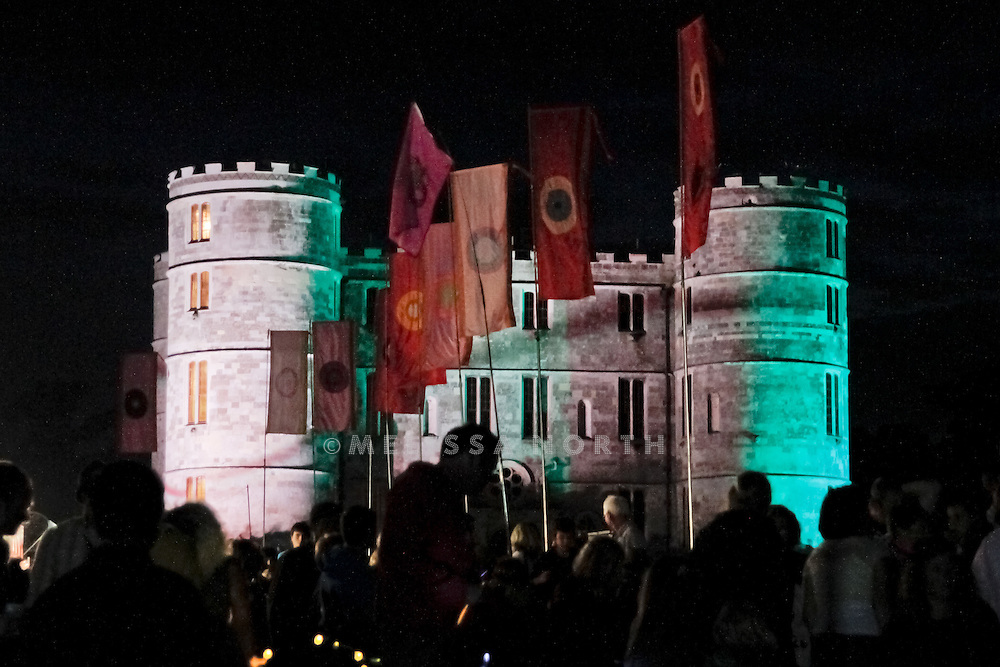 Atmosphere at Camp Bestival, Lulworth on 30 July 2011. Photo by Melissa North