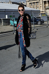 Clotilde Courau arriving at the Elie Saab show as a part of Paris Fashion Week Ready to Wear Spring/Summer 2017 in Paris, France on October 01, 2016. Photo by Aurore Marechal/ABACAPRESS.COM