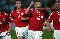 Fotball<br /> Kvalifisering til EM 2004<br /> 11.10.2003<br /> Bosnia v Danmark 1-1<br /> Norway Only<br /> Foto: Digitalsport<br /> <br /> Martin Jørgensen jubler efter scoring