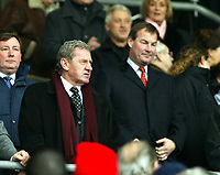 Fotball<br /> FA-cup 2005<br /> Southampton v Portsmouth<br /> 29. januar 2005<br /> Foto: Digitalsport<br /> NORWAY ONLY<br /> Rupert Lowe ignores Milan Mandaric as the controversial chairman take their seats for the derby game