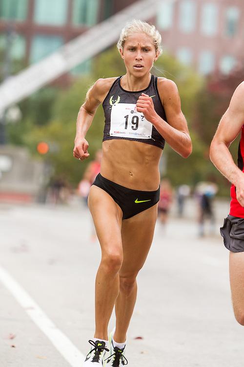 CVS Health Downtown 5k, USA 5k road championship, quarter mile to finish, Jordan Hasey