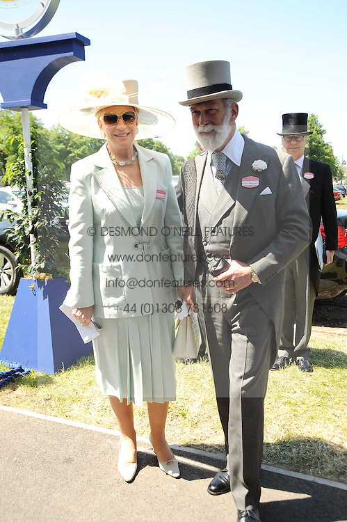 TRH PRINCE & PRINCESS MICHAEL OF KENT at the third day of the Royal Ascot 2010 (Ladies Day) Racing Festival at Ascot Racecourse, Bershire on 17th June 2010.