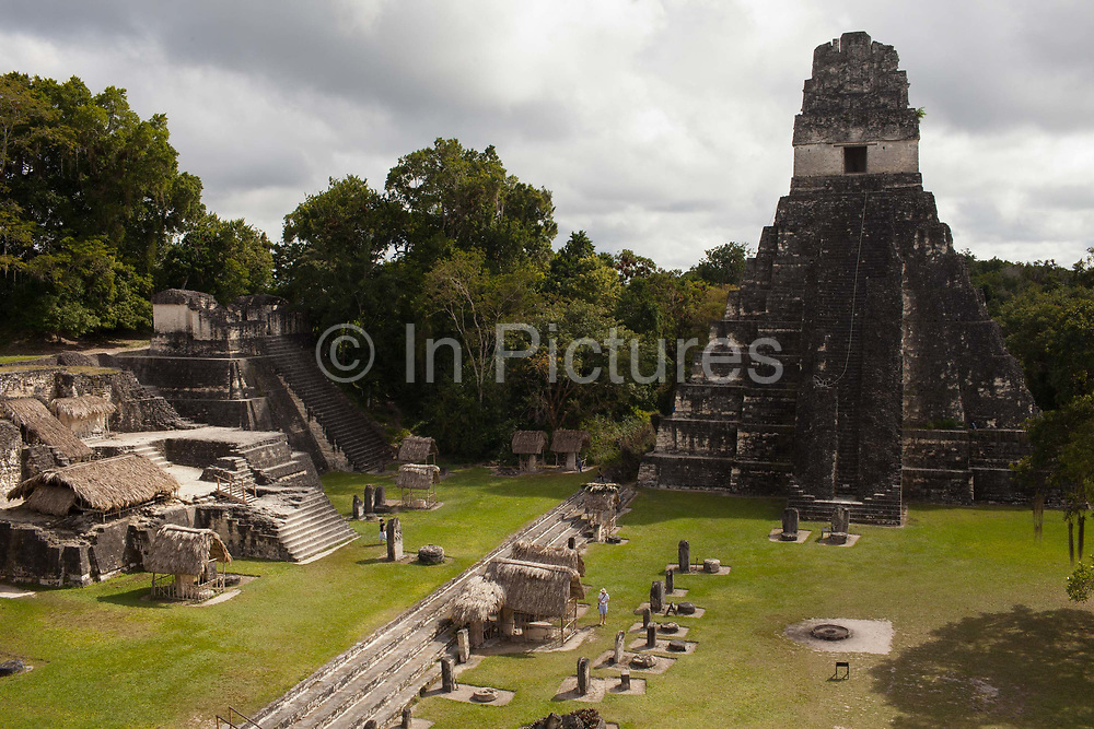 Tikal is a ruins of an ancient Maya city, archaeologists believe it was called Yax Mutal, and is one of the largest pre-Columbian Maya sites and a UNESCO World heritage site. Located in the department of El Petén and part of Tikal National Park, it is a popular tourist site, accessed by most from the nearby Flores, Guatemala.