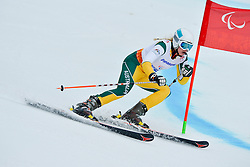 Jessica Gallagher, Women's Giant Slalom at the 2014 Sochi Winter Paralympic Games, Russia