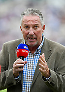 Sky Sports pundit Sir Ian Botham OBE during the first day of the 4th SpecSavers International Test Match 2018 match between England and India at the Ageas Bowl, Southampton, United Kingdom on 30 August 2018.