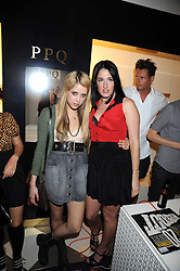 Left to right, PEACHES GELDOF and AMY MOLYNEAUX at the PPQ of Mayfair Summer Party at 47 Conduit Street, London on 30th July 2008.<br /> <br /> NON EXCLUSIVE - WORLD RIGHTS