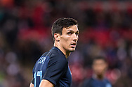England (17) Jack Cork during the Friendly match between England and Germany at Wembley Stadium, London, England on 10 November 2017. Photo by Sebastian Frej.