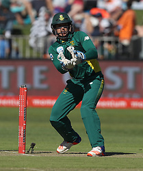 Quinton de Kock of South Africa during the 3rd ODI match between South Africa and Australia held at Kingsmead Stadium in Durban, Kwazulu Natal, South Africa on the 5th October  2016<br /> <br /> Photo by: Steve Haag/ RealTime Images