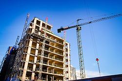 Flats in Quartermile, Lauriston, Edinburgh under construction<br /> <br /> (c) Andrew Wilson   Edinburgh Elite media