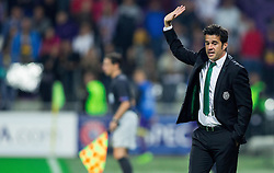 Marco Silva, head coach of Sporting during football match between NK Maribor and Sporting Lisbon (POR) in Group G of Group Stage of UEFA Champions League 2014/15, on September 17, 2014 in Stadium Ljudski vrt, Maribor, Slovenia. Photo by Vid Ponikvar  / Sportida.com