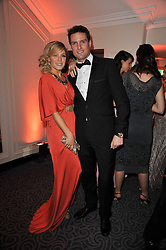 HOFIT GOLAN and STEPHEN BOWMAN at Quintessentially's 10th birthday party held at The Savoy Hotel, London on 13th December 2010.