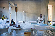 Gerard Dite, 35 recovers from cholera at the  Real Hope for Haiti  Cholera Clinic in Cazel. The Cholera clinic is 11 kilometers off the main road passing through Cabaret, north of Port-au-Prince  and is run by missionaries.