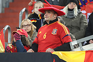 Fan of Spain during the International Friendly Game football match between Germany and Spain on march 23, 2018 at Esprit-Arena in Dusseldorf, Germany - Photo Laurent Lairys / ProSportsImages / DPPI