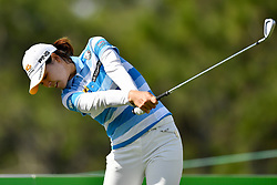 January 19, 2019 - Lake Buena Vista, FL, U.S. - LAKE BUENA VISTA, FL - JANUARY 19: In Gee Chun of South Korea tees off during the third round of the Diamond Resorts Tournament of Champions on January 19, 2019, at Tranquilo Golf Course at Fours Seasons Orlando in Lake Buena Vista, FL. (Photo by Roy K. Miller/Icon Sportswire) (Credit Image: © Roy K. Miller/Icon SMI via ZUMA Press)