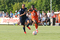 Angoula Aldo (Evian Thonon) / Traore Alain (FC Lorient)
