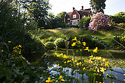 Old Victorian rectory now home of the Rivendell Buddhist Retreat Centre, East Sussex, England.