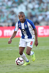 May 25, 2019 - Oeiras, Portugal - OEIRAS, PORTUGAL - MAY 25: Porto's Algerian forward Yacine Brahimi in action during the Portugal Cup Final football match Sporting CP vs FC Porto at Jamor stadium, on May 25, 2019, in Oeiras, outskirts of Lisbon, Portugal. (Credit Image: © Pedro Fiuza/NurPhoto via ZUMA Press)