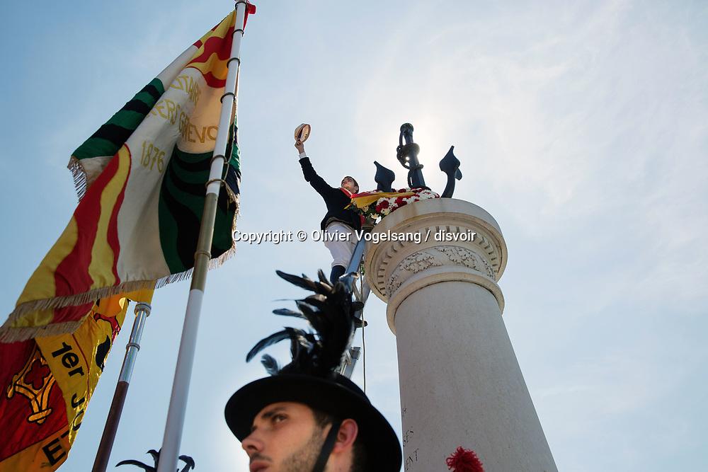Festivité du Bicentenaire de la rentrée de Genève dans la Confédération helvétique. © Olivier Vogelsang