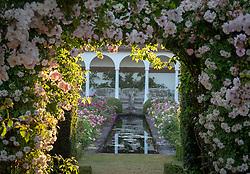 Entrance to The Renaissance Garden at David Austin Roses