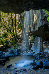 Hedge Creek Falls, Shasta Retreat, Dunsmuir, California, US
