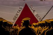 Belo Horizonte_ MG, 30 de Julho de 2010...Campanha Antonio Anastasia ao governo do Estado...O governador Antonio Anastasia participa de formatura da turma de 1300 policias militares no Mineirinho...Foto EMMANUEL PINHEIRO/NITRO