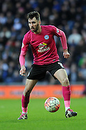 Peterborough's Michael Smith in action. The Emirates FA Cup, 4th round match, West Bromwich Albion v Peterborough Utd at the Hawthorns stadium in West Bromwich, Midlands on Saturday 30th January 2016. pic by Carl Robertson, Andrew Orchard sports photography.