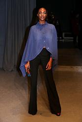 Jourdan Dunn attending the Burberry London Fashion Week Show at Makers House, Manette Street, London.