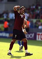 Foto Omega/Colombo<br /> 26/06/2006 Campionati Mondiali di Calcio 2006<br /> Ottavi di Finale <br /> Italia -Australia  <br /> nella foto : Buffon Gianluigi