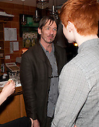 BRENDAN KING, The Man Booker Best Of Beryl Prize, The Union, 50 Greek Street, London, 19 April 2011. Party celebrates special prize created by the Booker Foundation in honour of the late Beryl Bainbridge who died in July 2010.   -DO NOT ARCHIVE-© Copyright Photograph by Dafydd Jones. 248 Clapham Rd. London SW9 0PZ. Tel 0207 820 0771. www.dafjones.com.