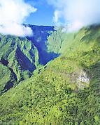 Waialeale; Kauai; Hawaii; waterfall