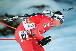 WINDISCH Dominik (ITA) competes during Men 12,5 km Pursuit at day 3 of IBU Biathlon World Cup 2014/2015 Pokljuka, on December 20, 2014 in Rudno polje, Pokljuka, Slovenia. Photo by Vid Ponikvar / Sportida