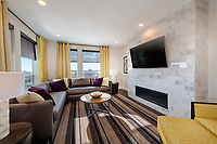 Interior photo of Metro Heights Apartments in Baltimore Maryland by Jeffrey Sauers of Commercial Photographics.