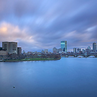 Boston art photography images are available as museum quality wall art photography prints, wood prints, canvas prints, acrylic prints or metal prints. Prints may be framed and matted to the individual liking and decorating needs:<br /> <br /> http://juergen-roth.pixels.com/featured/boston-long-exposure-photography-of-the-charles-river-skyline-juergen-roth.html<br /> <br /> Boston cityscape photography art showing the Massachusetts Eye and Ear Infirmary, a Harvard Medical School affiliate, and the Boston Back Bay Charles River skyline with its famous landmarks the Prudential Center and 200 Clarendon better known as the John Hancock Tower. The long exposure photography photograph was captured on a beautiful sunset night when the last light painted the cloudscape in light grey and orange colors.<br /> <br /> All Boston West End and Back Bay photos are available for digital and print photography image licensing at www.RothGalleries.com. Please contact me direct with any questions or request.<br /> <br /> Good light and happy photo making!<br /> <br /> My best,<br /> <br /> Juergen<br /> Prints: http://www.rothgalleries.com<br /> Photo Blog: http://whereintheworldisjuergen.blogspot.com<br /> Instagram: https://www.instagram.com/rothgalleries<br /> Twitter: https://twitter.com/naturefineart<br /> Facebook: https://www.facebook.com/naturefineart