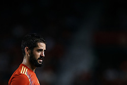 September 11, 2018 - Elche, Alicante, Spain - Isco Alarcon of Spain looks on during the UEFA Nations League A group four match between Spain and Croatia at Manuel Martinez Valero on September 11, 2018 in Elche, Spain  (Credit Image: © David Aliaga/NurPhoto/ZUMA Press)