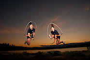 Dynamic Athlete Portraits