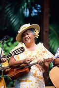 Ukulele player, Waikiki, Oahu, Hawaii