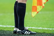 assistant referee classic adidas boots  during the FIFA World Cup Qualifier match between England and Slovenia at Wembley Stadium, London, England on 5 October 2017. Photo by Sebastian Frej.