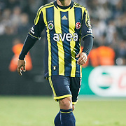 Fenerbahce's Emre Belezoglu during their Turkish Superleague SuperFinal Derby match Besiktas between Fenerbahce at the Inonu Stadium at Dolmabahce in Istanbul Turkey on Thursday, 03 May 2012. Photo by TURKPIX