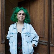 Piccolo Teatro Grassi, Milano, Italia, 29 Marzo 2021. Chiara Muraro, 21 anni, studentessa di drammaturgia.