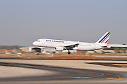 Israel, Ben-Gurion international Airport Air France Airbus A320-214