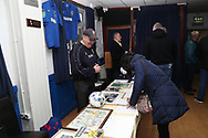 AFC Wimbledon silent auction during the EFL Sky Bet League 1 match between AFC Wimbledon and Southend United at the Cherry Red Records Stadium, Kingston, England on 24 November 2018.