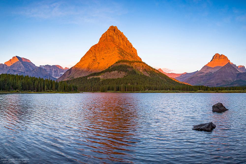 Swiftcurrent Lake Panorama 1
