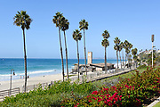 San Clemente Lifeguard Headquarters and Clock Tower from Parque del Mar