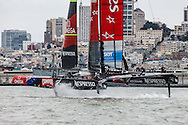 23/07/2013 - San Francisco (USA CA) - 34th America's Cup - Louis Vuitton Cup - Race Day 9 - Emirates Team New Zealand vs Luna Rossa