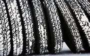 Image of racecar salty tires at Speed Week 2018 at the Bonneville Salt Flats, Utah, American Southwest by Randy Wells