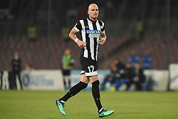 April 18, 2018 - Naples, Naples, Italy - Bram Nuytinck of Udinese Calcio during the Serie A TIM match between SSC Napoli and Udinese Calcio at Stadio San Paolo Naples Italy on 18 April 2018. (Credit Image: © Franco Romano/NurPhoto via ZUMA Press)